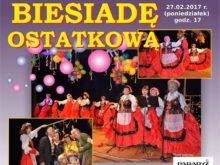 Więcej o: Biesiada Ostatkowa