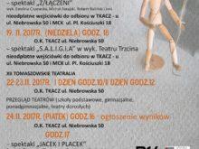 Więcej o: Teatralny listopad w Tomaszowie