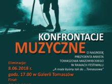 Więcej o: Konfrontacje Muzyczne o nagrodę Prezydenta Miasta Tomaszowa Mazowieckiego