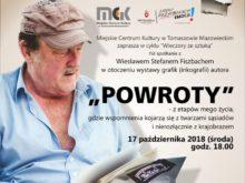"""Więcej o: """"Wieczory ze sztuką"""" – """"POWROTY"""", spotkanie z Wiesławem Stefanem Fishbachem"""