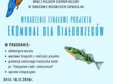 """Więcej o: Wydarzenie finałowe projektu """"EKOmural dla Białobrzegów"""""""