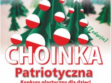 """Więcej o: Konkurs plastyczny """"Choinka patriotyczna"""""""