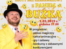 Więcej o: Złoty Bal Karnawałowy z Panem Buźką
