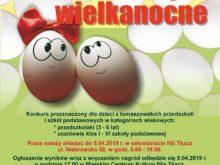 Więcej o: VIII edycja konkursu plastycznego Jajko Wielkanocne