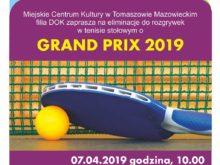 Więcej o: Grand Prix 2019 w tenisie stołowym