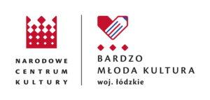Logo Narodowego Centrum Kultury i programu Bardzo Młoda Kultura