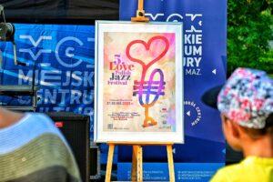 Plakat 5. Love Polish Jazz Festiva. Tomaszów MAzowiecki, 17-18 września 2021 r.